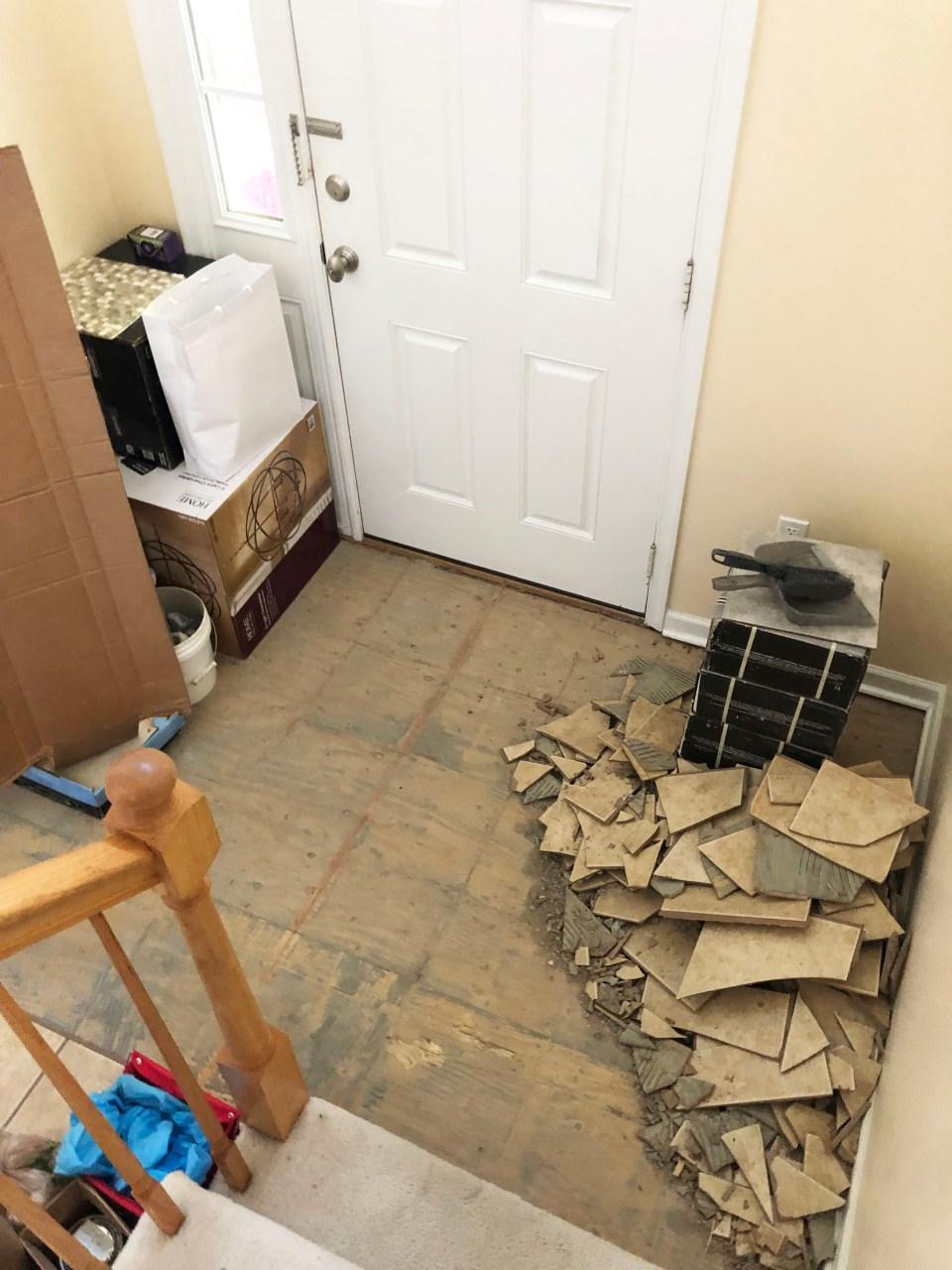 Foyer - Stairs Update 6