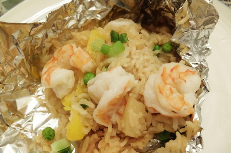 Teriyaki Shrimp & Pineapple Parcel 11