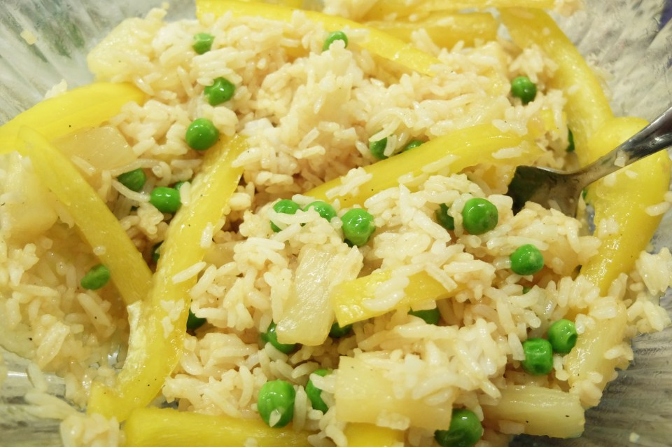 Teriyaki Shrimp & Pineapple Parcel 2