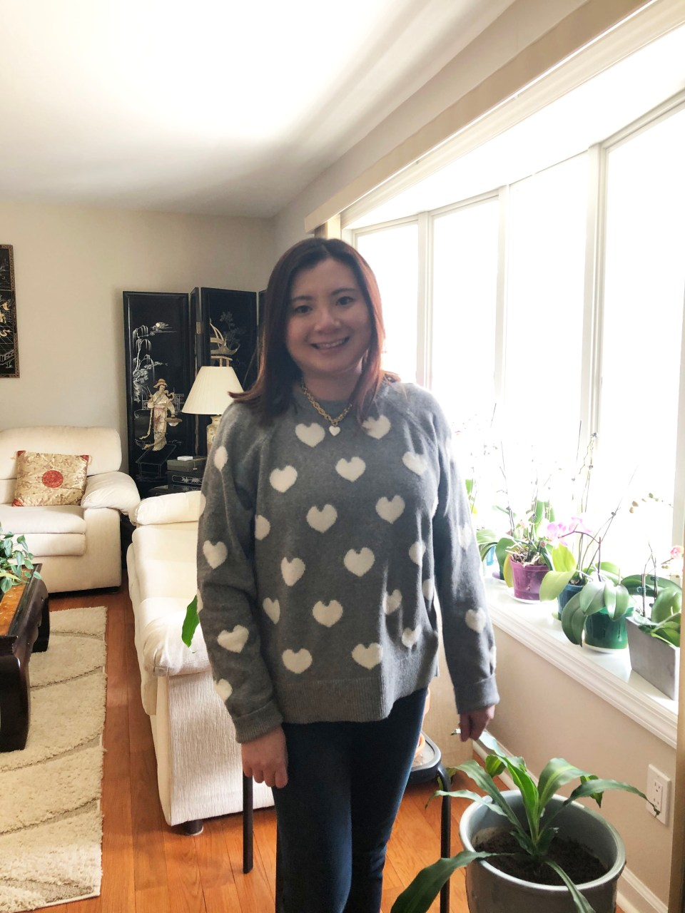 White Heart Sweater 6