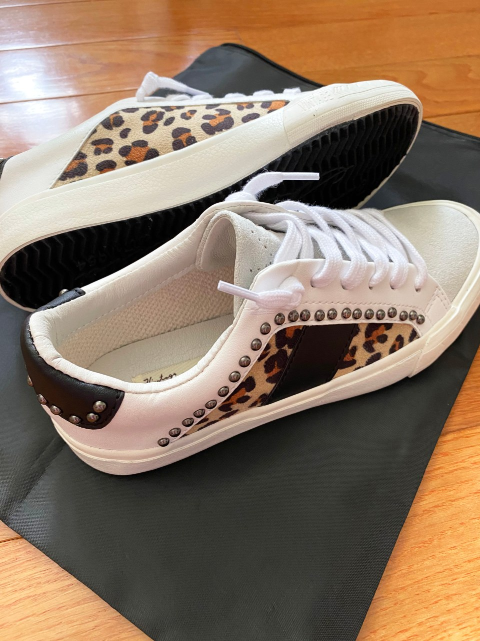 Leopard Studded Sneakers 3