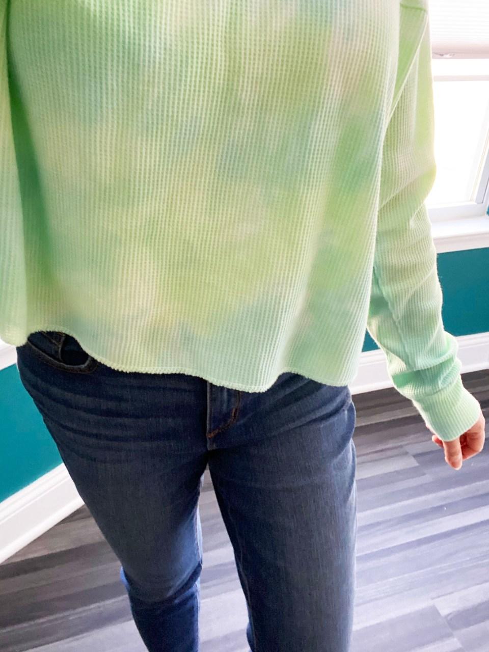 Tie Dye Thermal Top 16