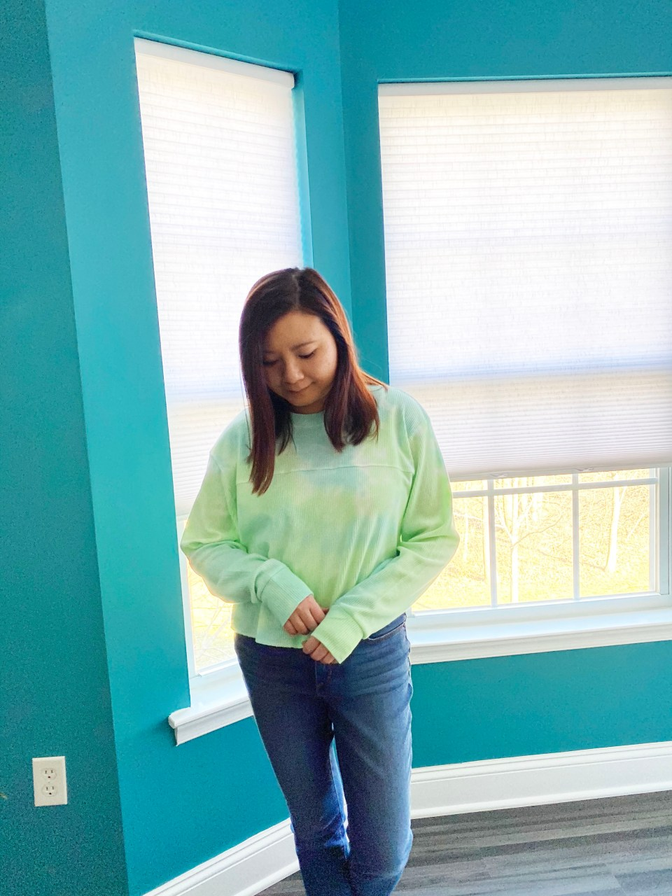 Tie Dye Thermal Top 8