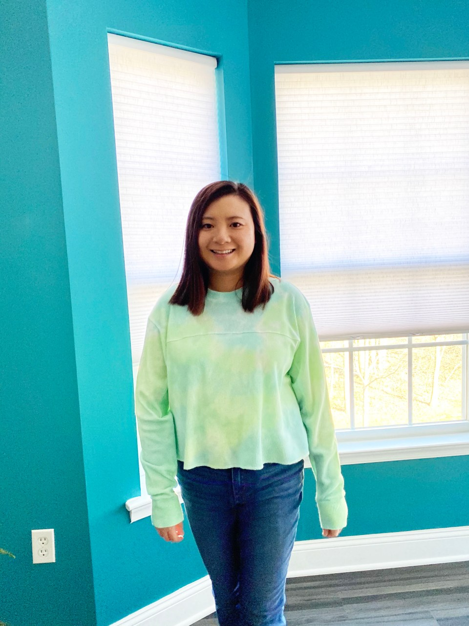 Tie Dye Thermal Top 9