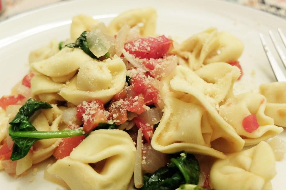 Tortellini w Spinach & Tomato 15