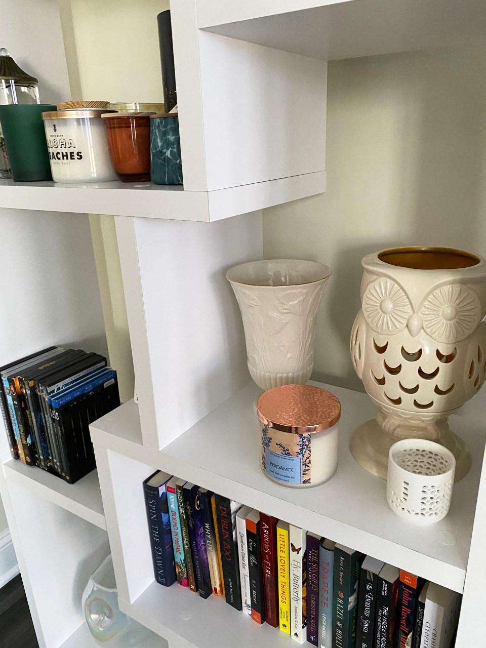 White Bookcase 5
