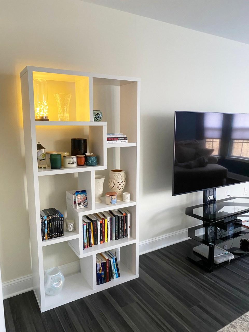 White Bookcase 8