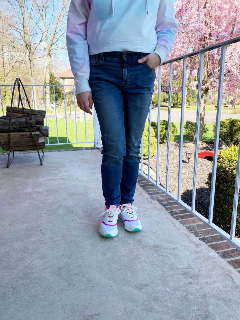 Neon Accented Sneakers 5