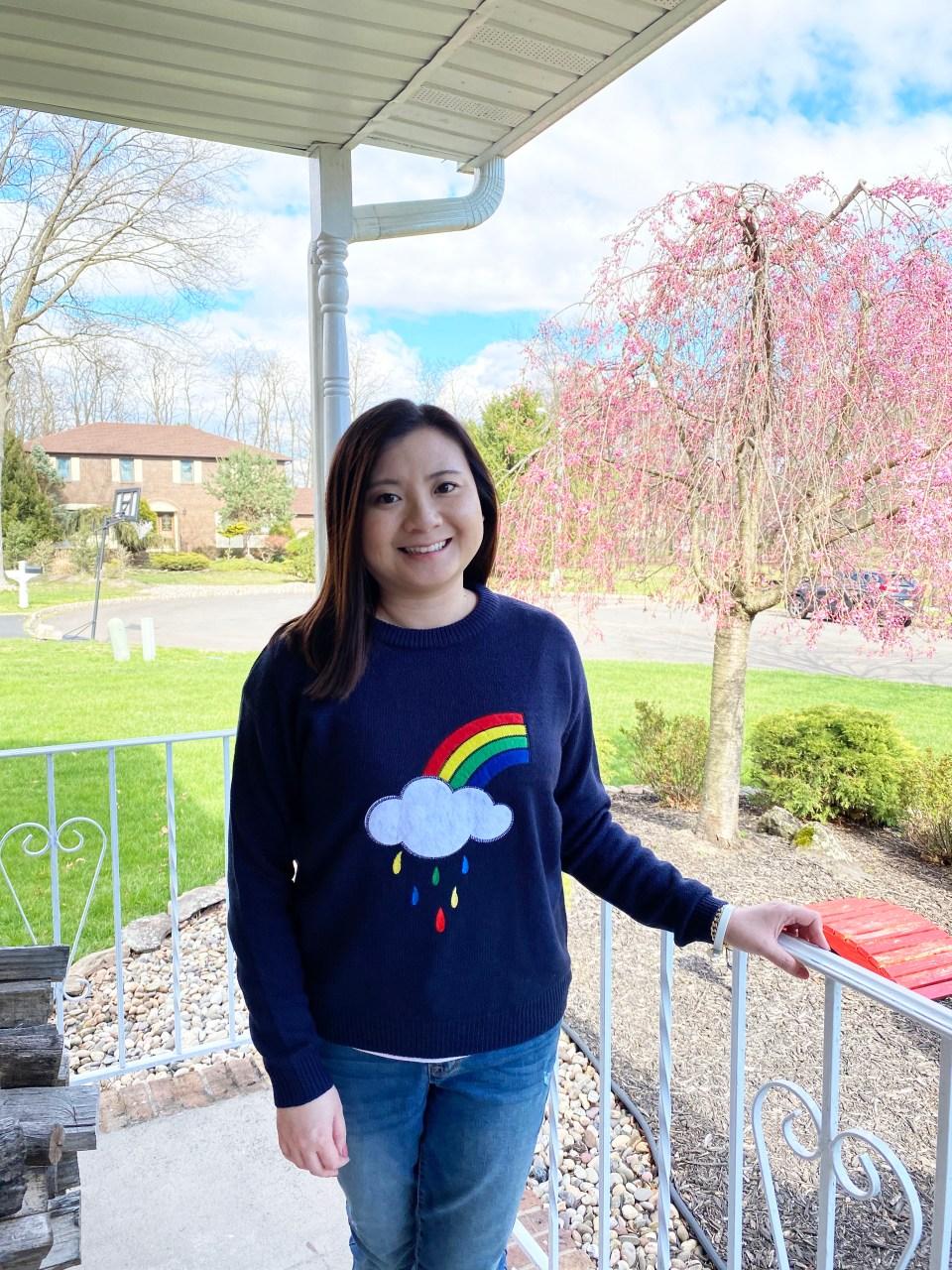 Rainbow & Cloud Sweater 11