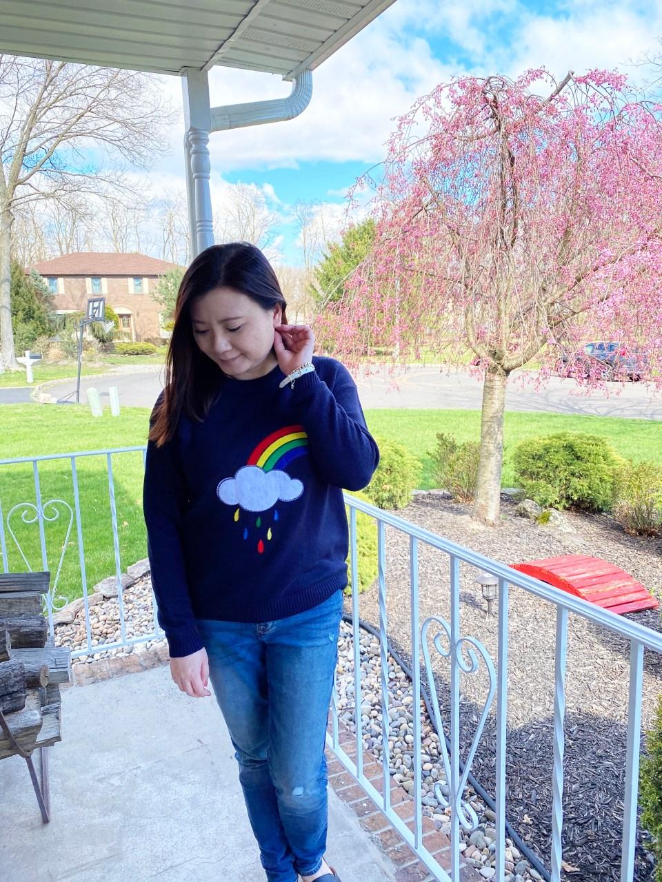 Rainbow & Cloud Sweater 2