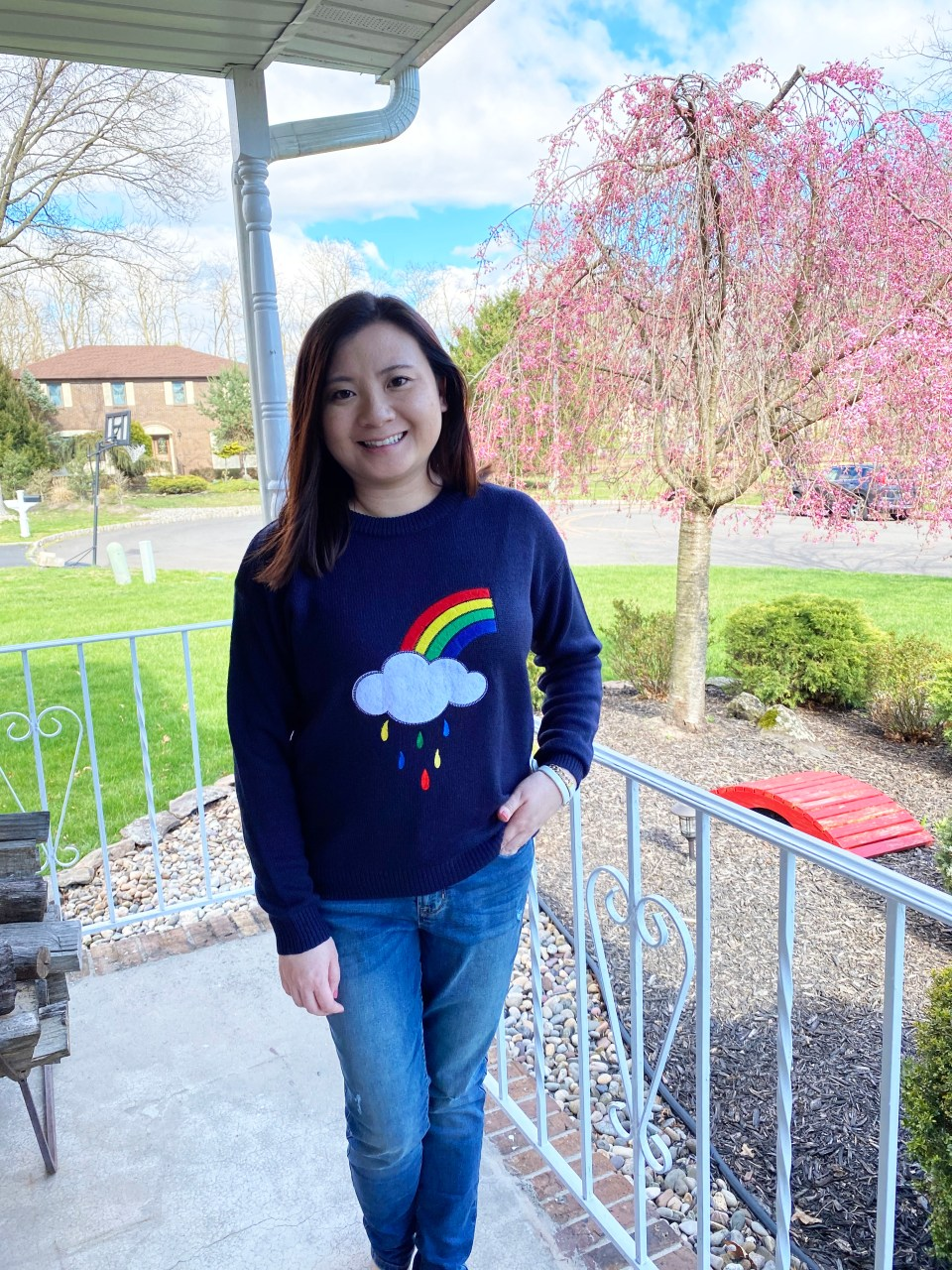 Rainbow & Cloud Sweater 3