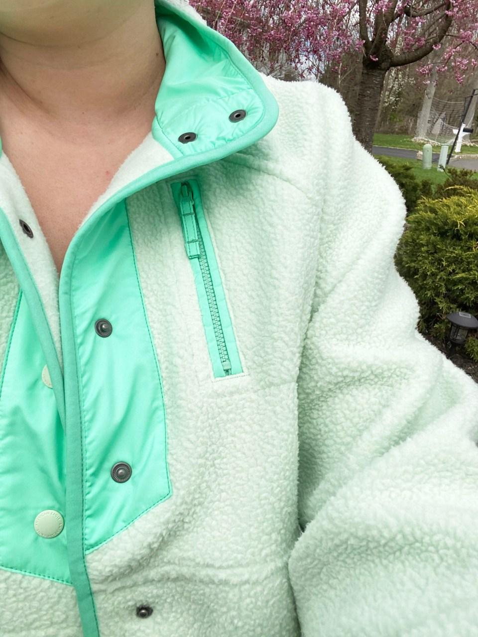 Snap Button Fleece Jacket 18