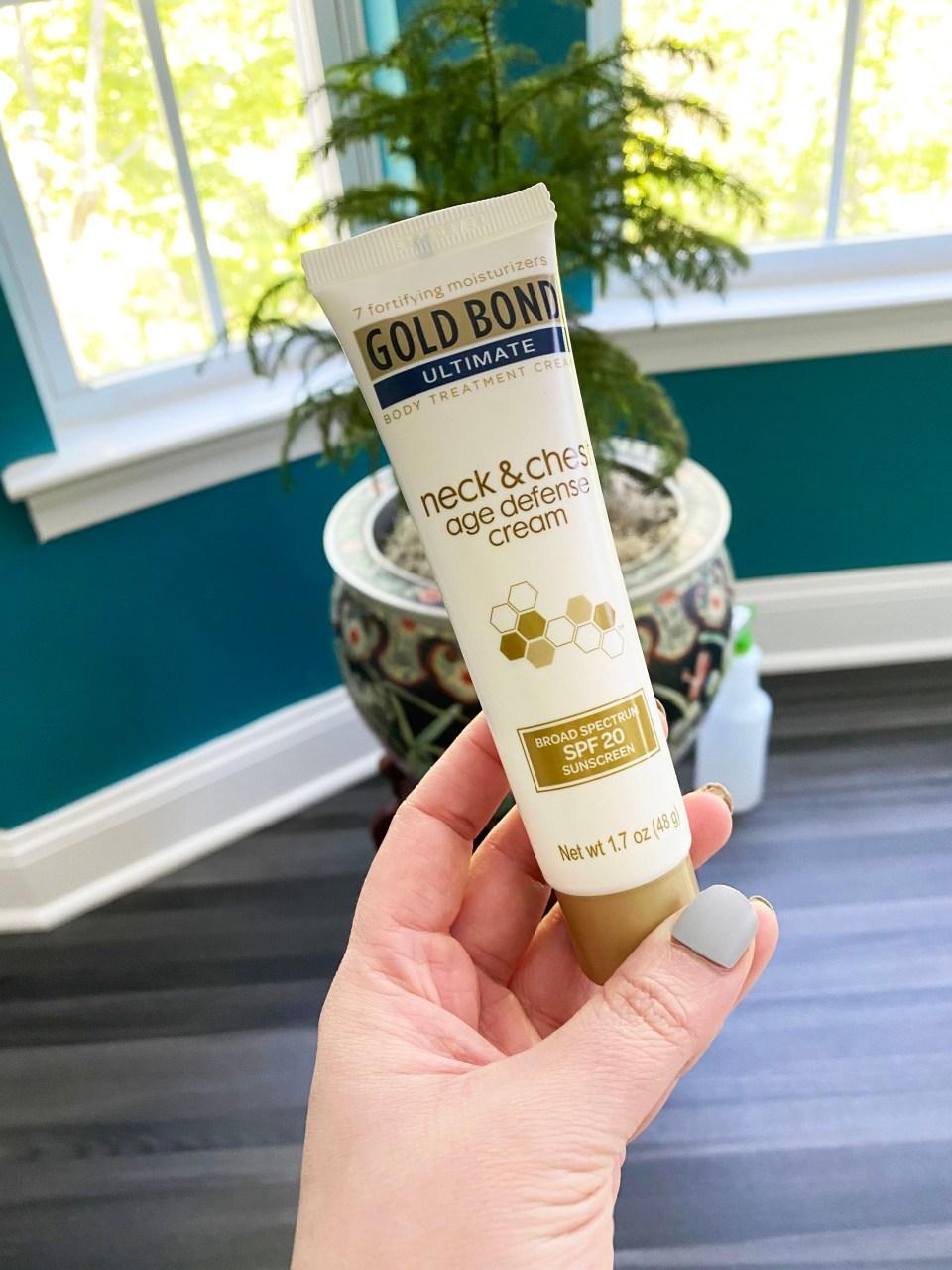 Gold Bond Neck & Chest Cream