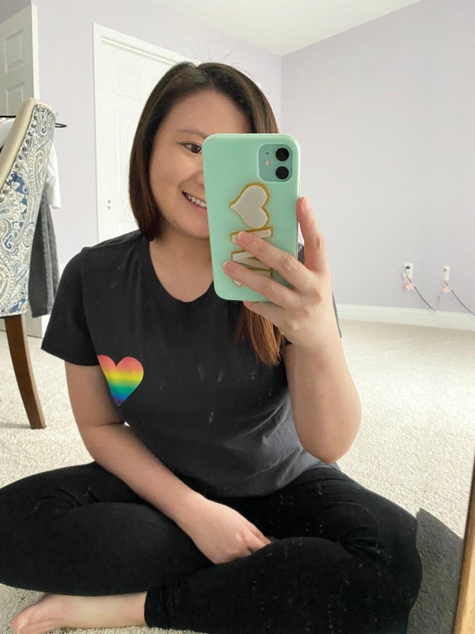 Rainbow Heart Tee 4