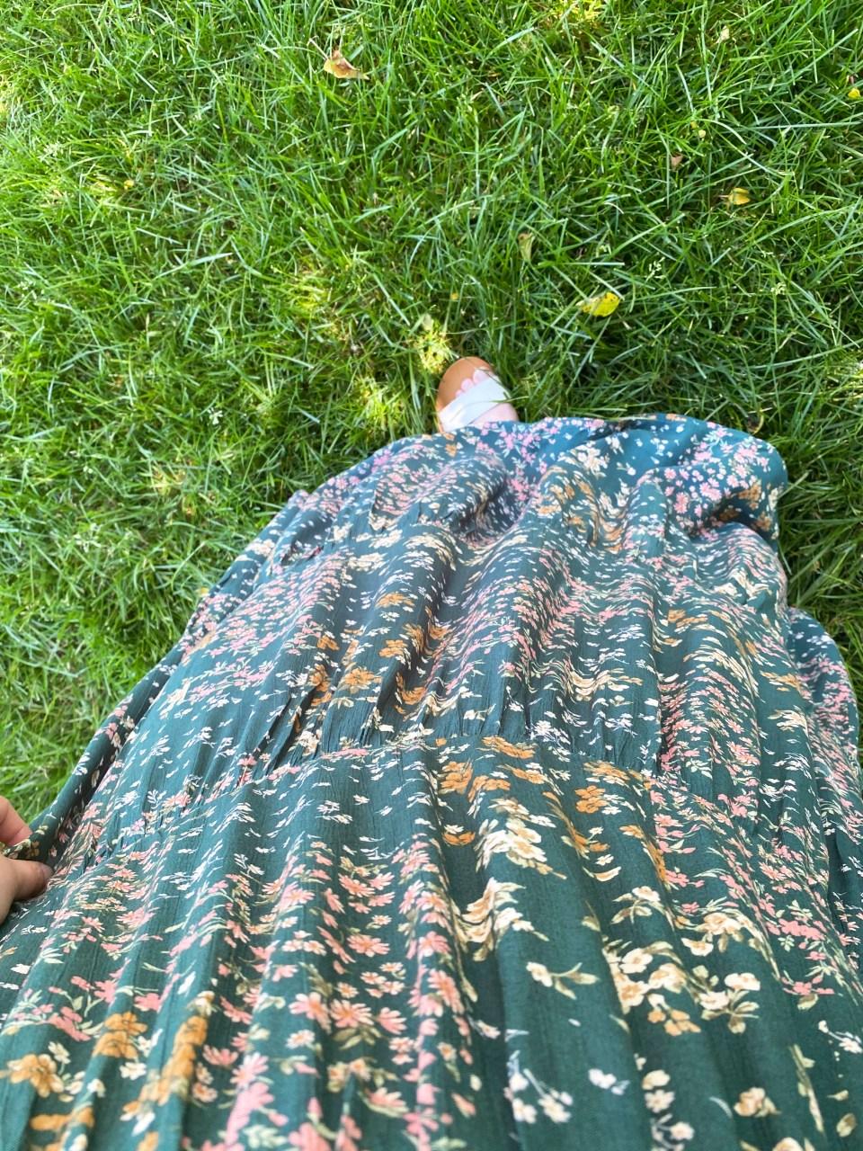 Smocked Babydoll Maxi Dress 9