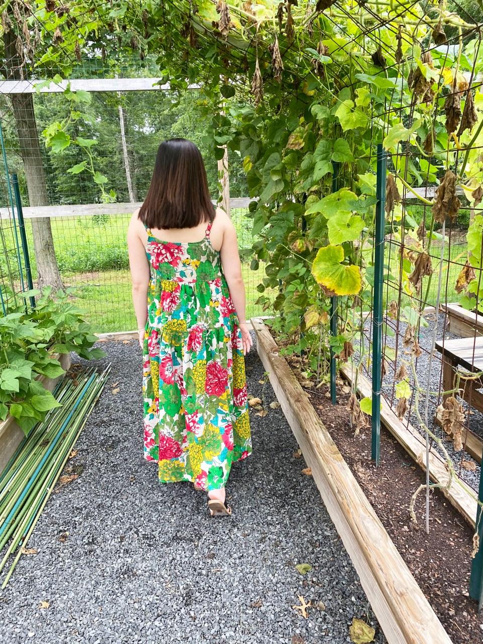Floral Swing Maxi Dress 6