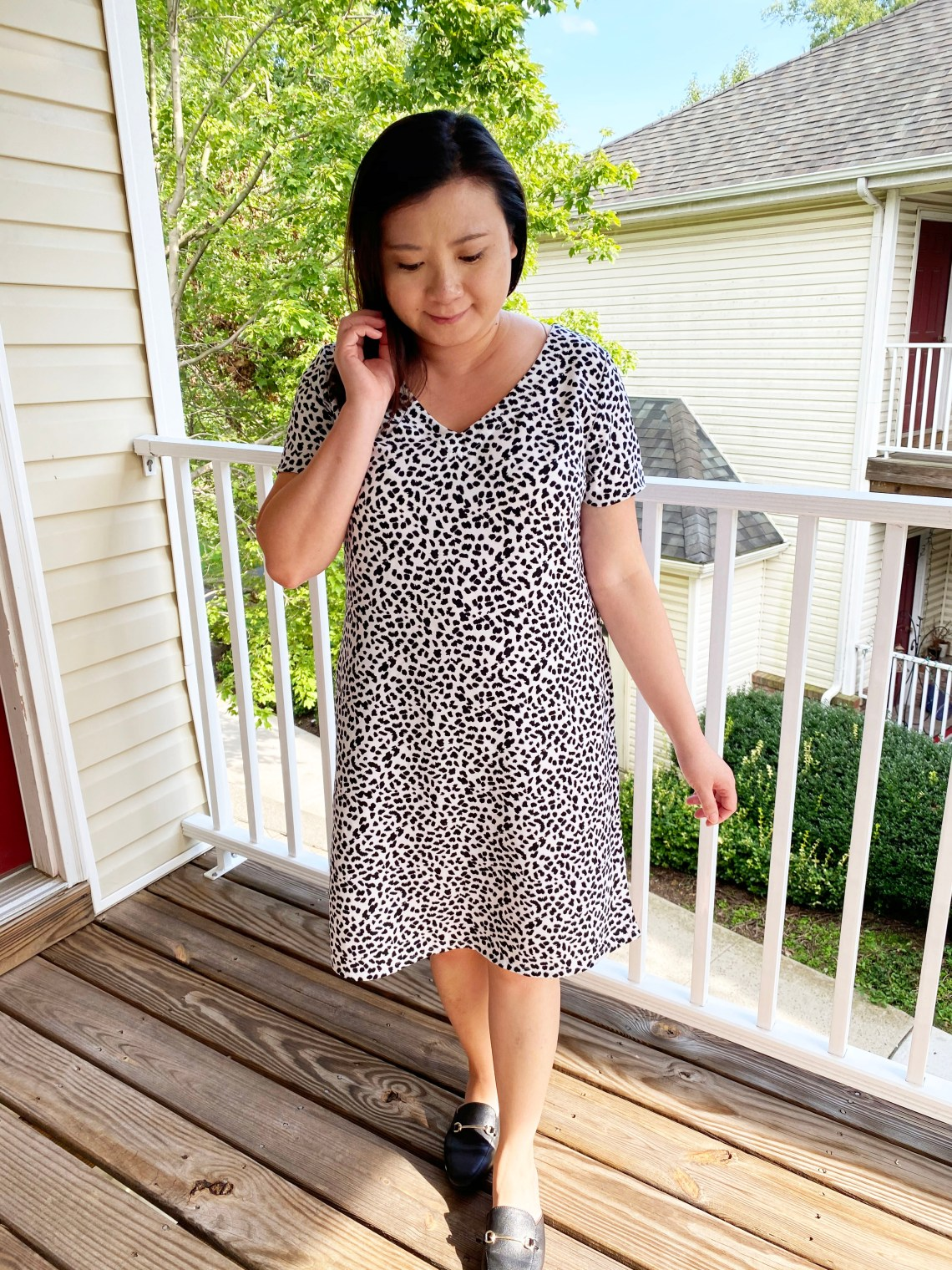 Animal-Print-Shift-Dress