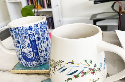 Floral-Anthropologie-Mugs