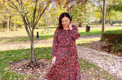 Red-Floral-Midi-Dress