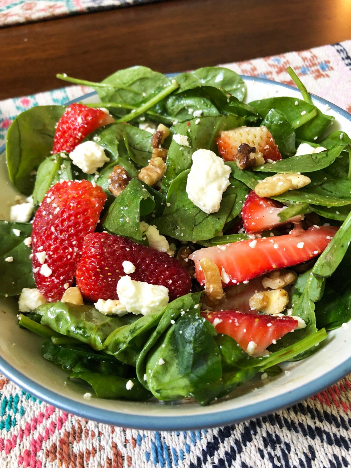 Strawberry-Feta-Salad