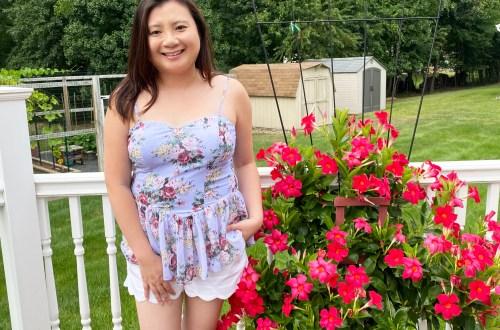 Floral-Chiffon-Peplum