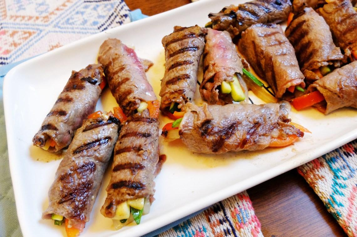 Balsamic-Glaze-Steak-Rolls