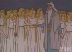 Polygamous Mormon god