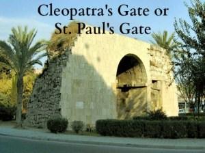 2014 Cleoopatra Gate or St Pauls Gate