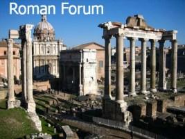 2014 Roman Forum