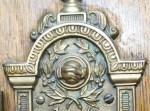 LDS temple doorplate-handclasp