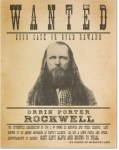 Porter Rockwell Wanted Poster