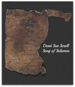 Song of Solomon Dead Sea Scroll