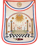 George Washington Masonic Apron