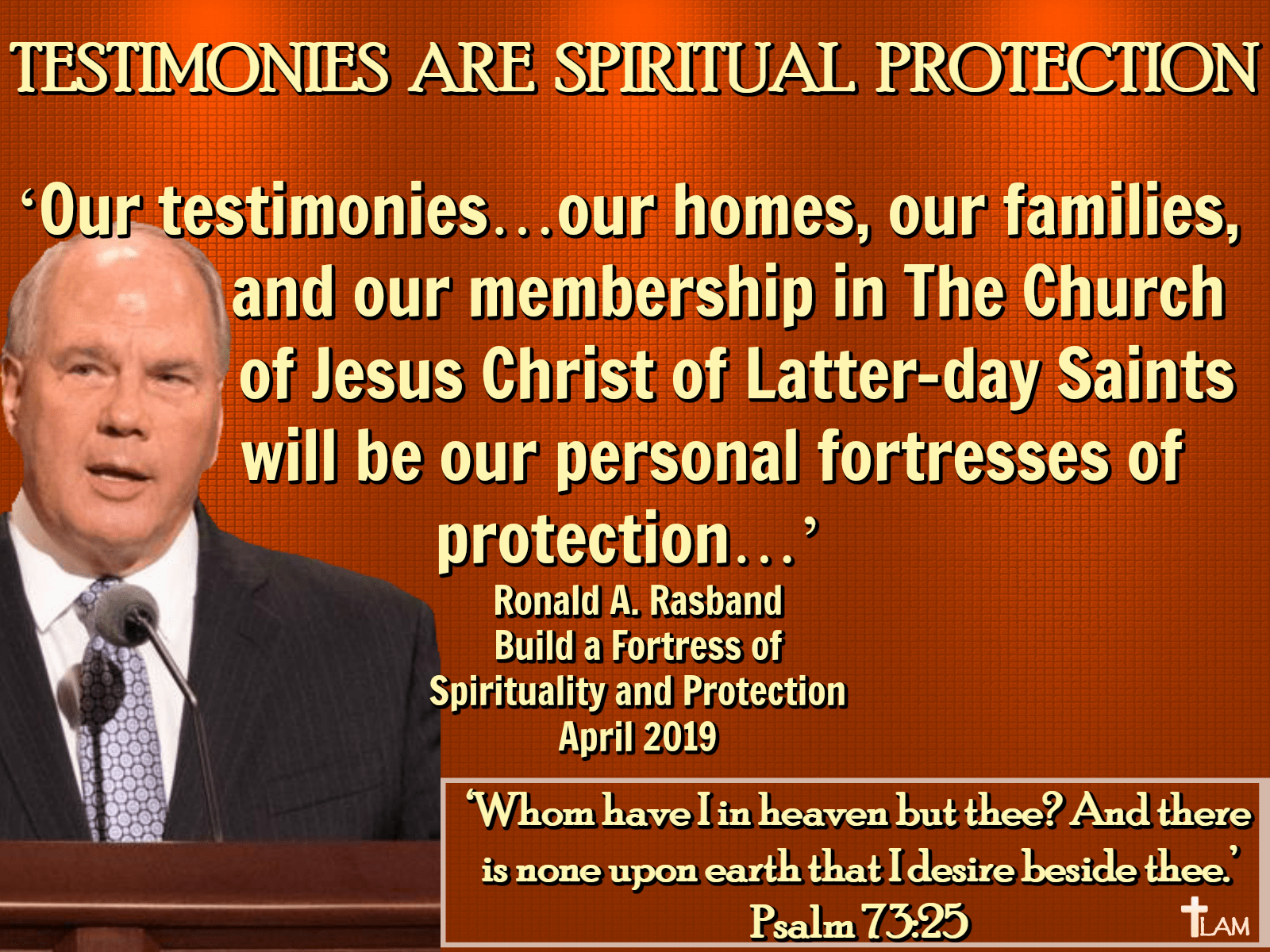Testimonies are Spiritual Protection - Life After Ministries