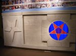 Pentagram Display Church History Museum