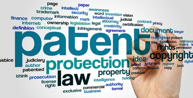 Patent word cloud