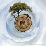 iPhone Handy Photo Tiny Planet filter