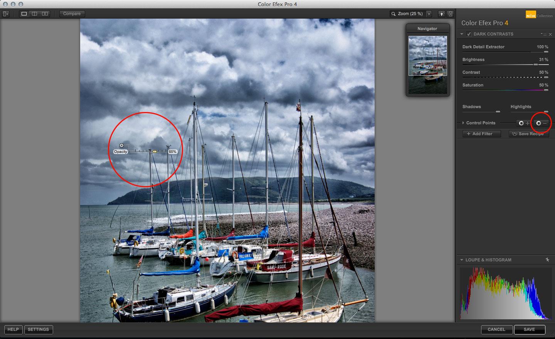 Nik Color Efex Pro Dark Contrasts filter