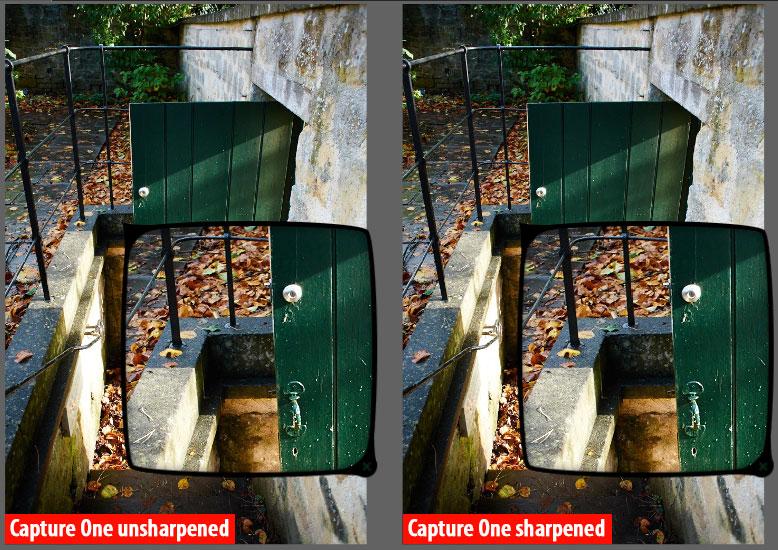 Export sharpening with DxO Optics Pro 9 and Capture One Pro 7