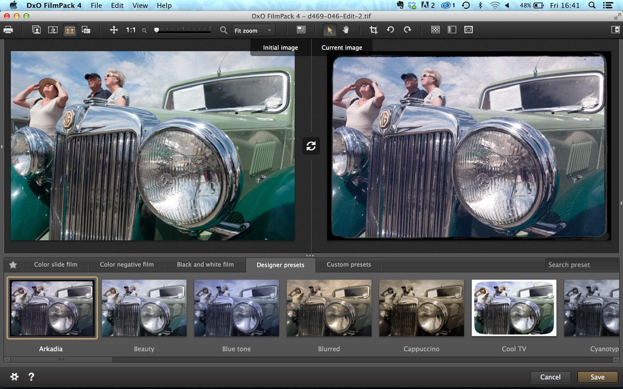 DxO FilmPack 4 presets