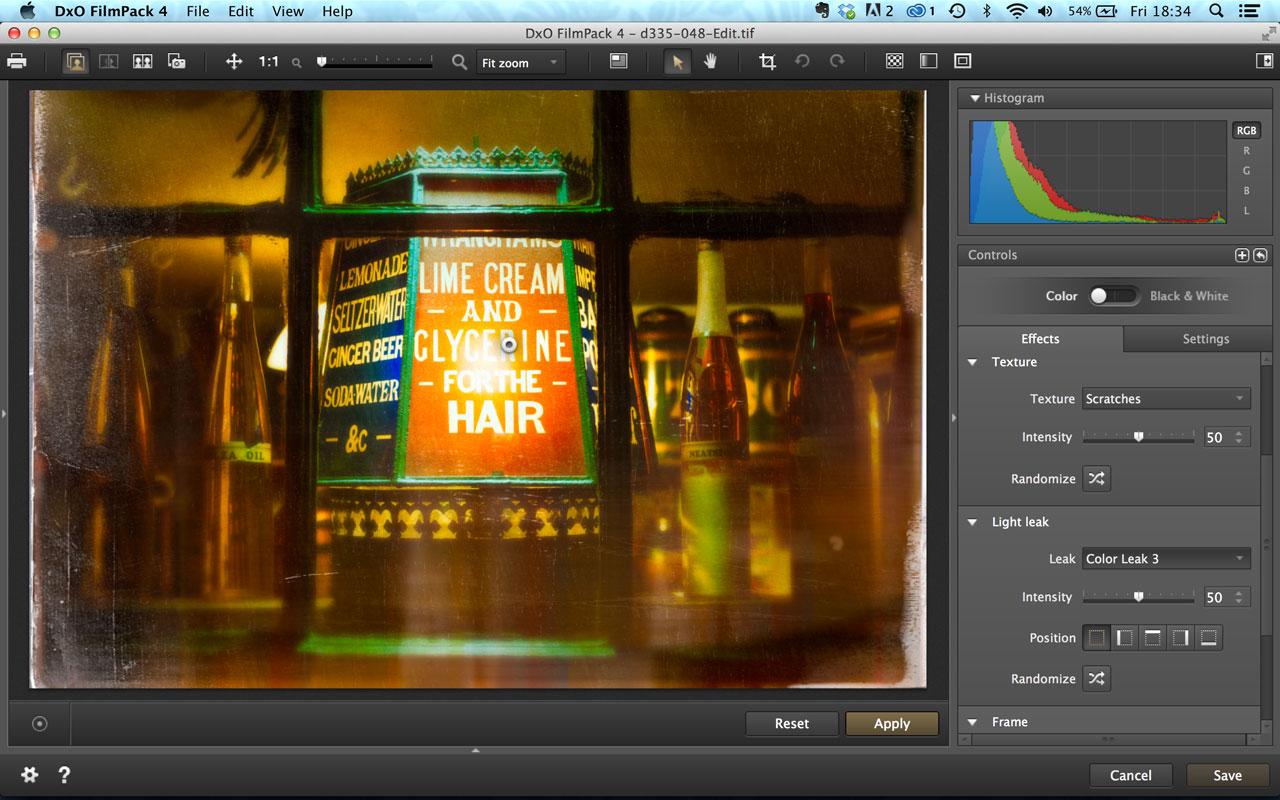 DxO FilmPack 4 effects