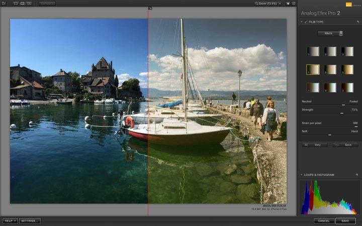Analog film effect tips Analog Efex Pro