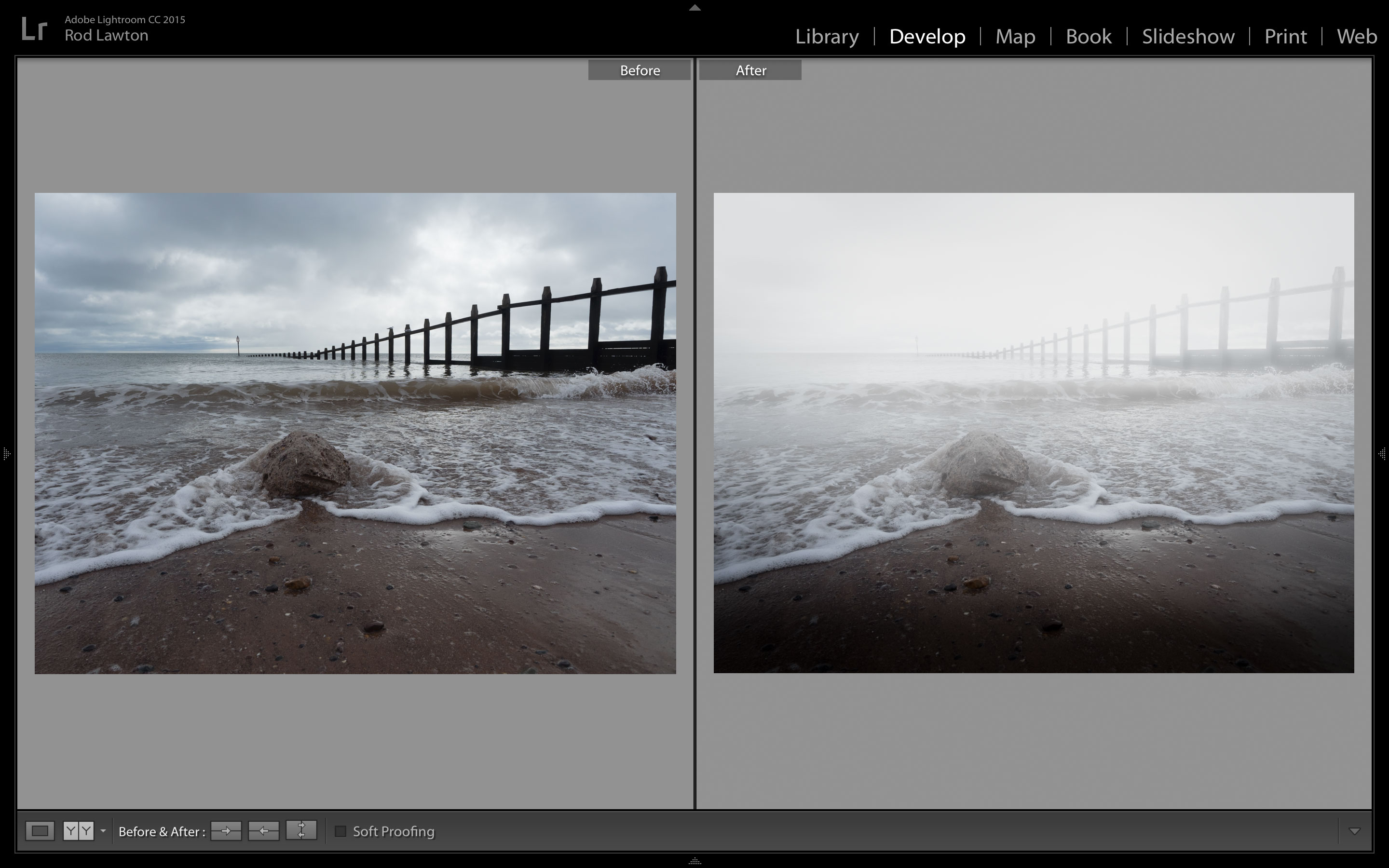 Free Lightroom preset - Mistical