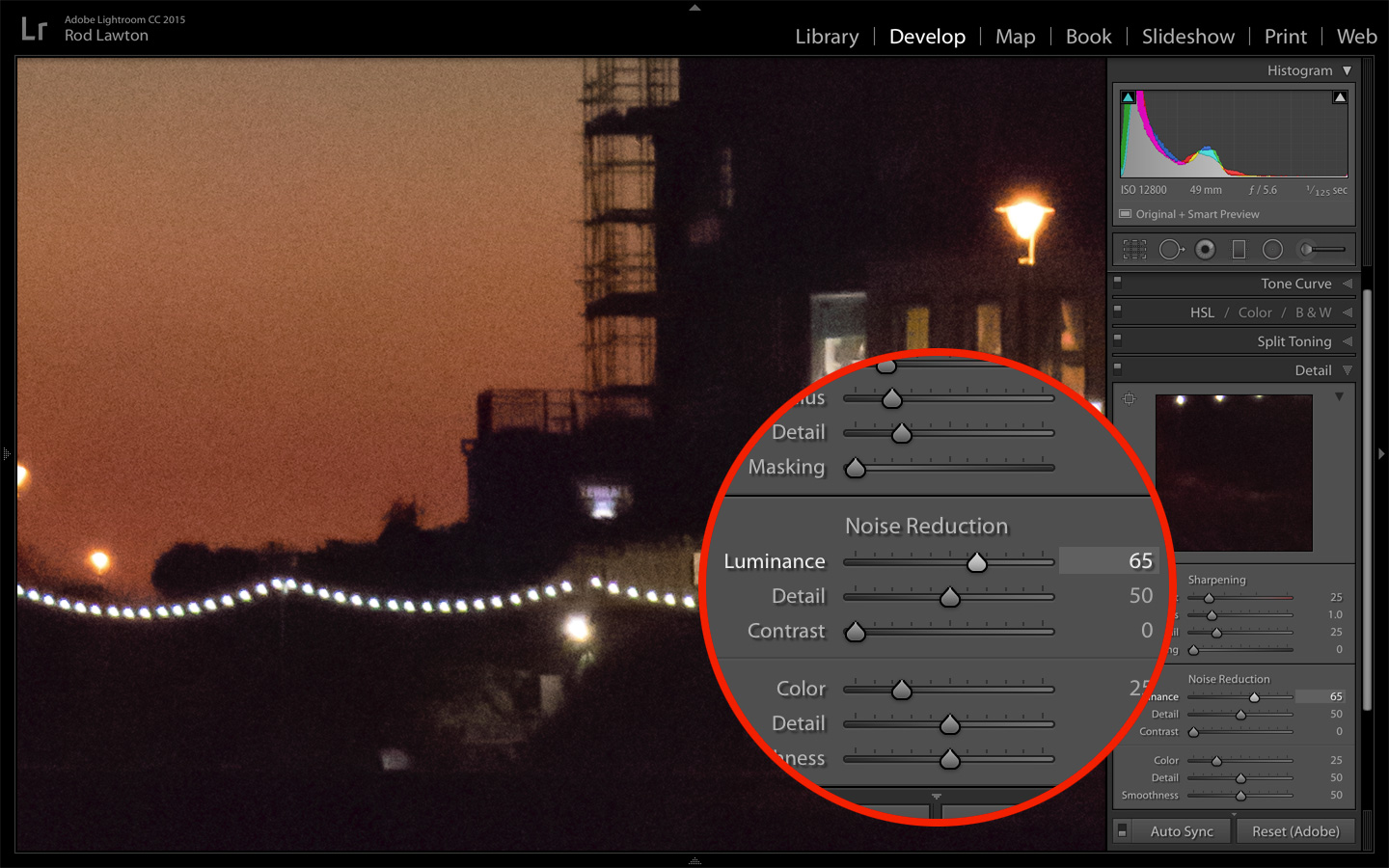 Lightroom noise reduction and why you need it | Life after