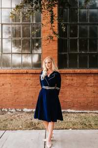 4 Gorgeous Dresses for Fall Wedding Guests 8