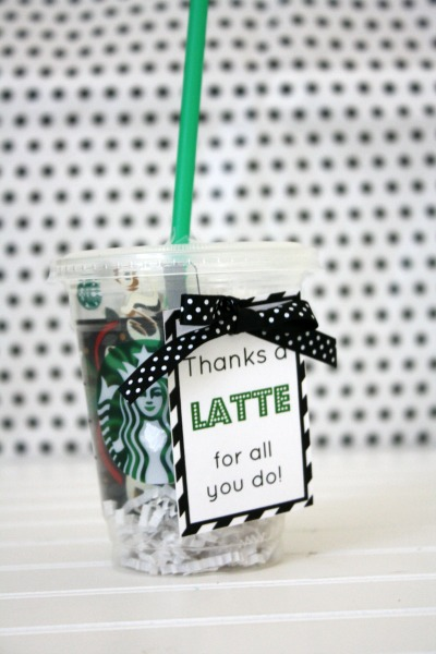 Thanks A Latte Appreciation Gift Life Anchored