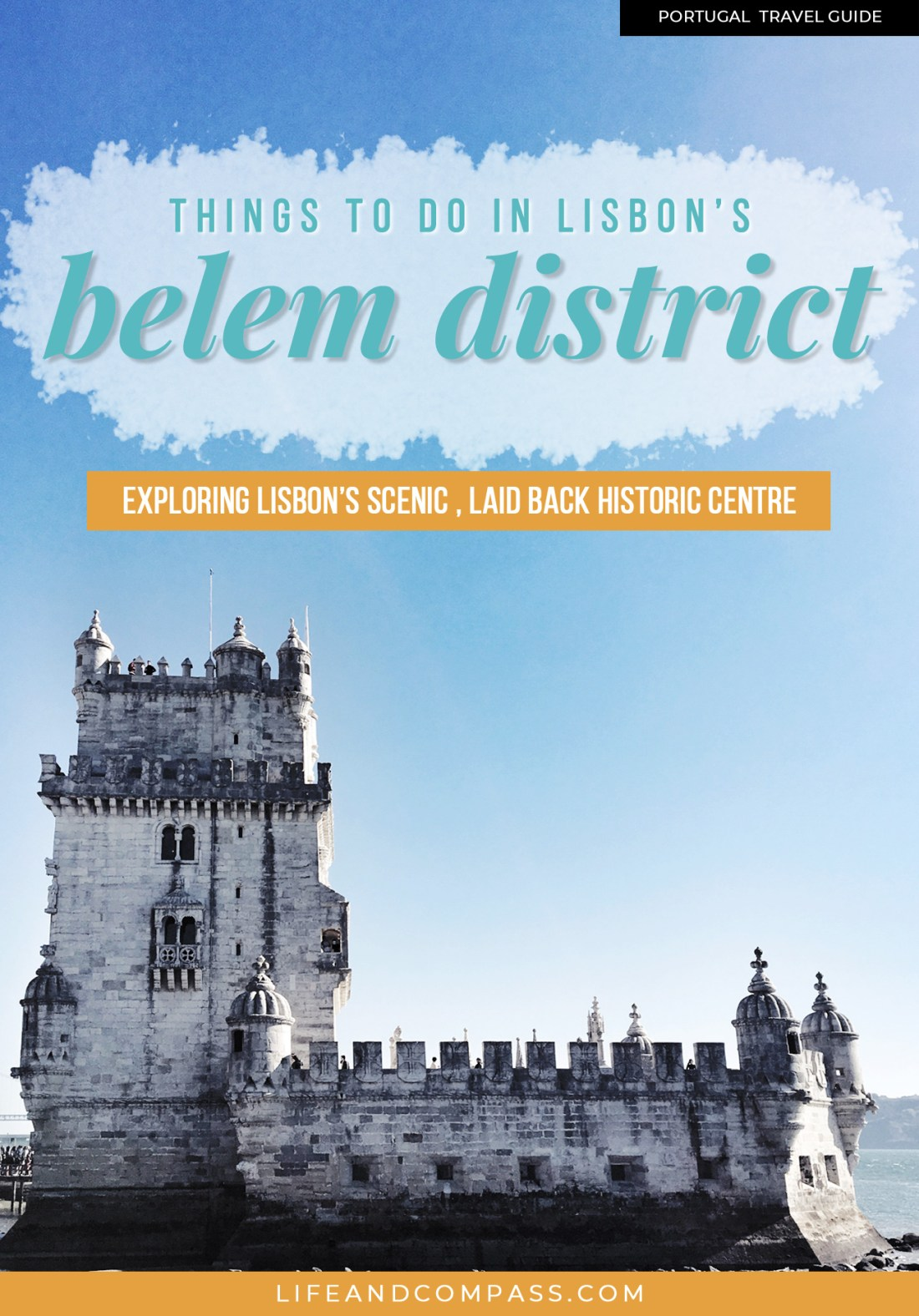 This is the gorgeous Belem in Lisbon, known as Lisbon's historic centre. From pasteis de nata (Portuguese tarts) and sightseeing by the water, here's my list of things to do in Belem!
