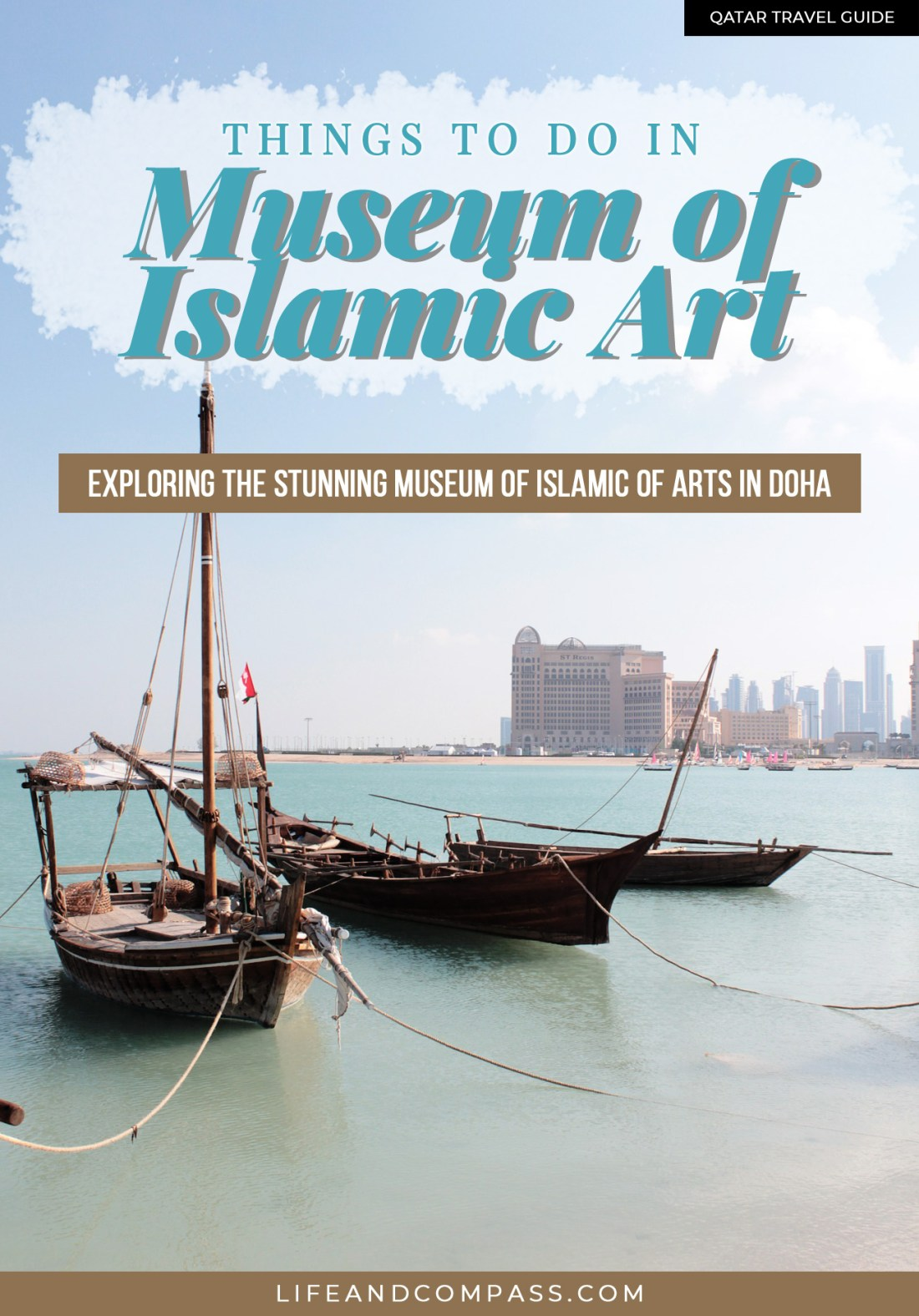 Visiting the Museum of Islamic Art in Doha, Qatar felt like walking through a work of art itself. It is one of Doha's must-see places and entry is free! It's one of the best things to do in Doha - discovering the beautiful arts housed in 5 floors of the Museum of Islamic Art - not to be missed!