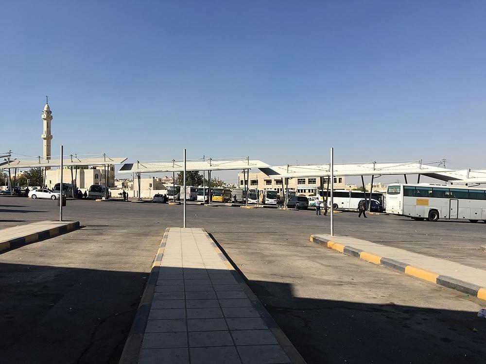 Amman - South Bus Station (Al Wehdat Bus Station or Mujemma Al-Janoob in Arabic)
