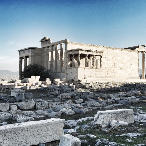 Postcard From | Acropolis, the Parthenon and Athens.